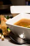 Tazón de fuente de sopa Imagen de archivo