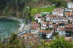Tazones, Asturias Stock Foto's