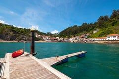 Tazones, Asturie, Spagna Immagine Stock