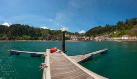 Tazones, Asturie, Spagna Fotografie Stock Libere da Diritti