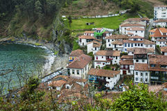 Tazones, Asturies Photos stock