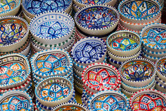 Tazones de fuente coloridos Fotografía de archivo libre de regalías