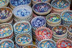 Tazones de fuente coloridos Fotos de archivo libres de regalías