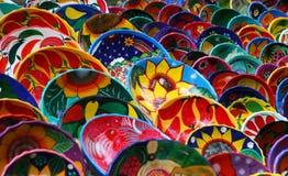 Tazones de fuente de la artesanía Imagen de archivo