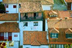 Tazones in Villaviciosa, Spanien Lizenzfreies Stockbild
