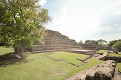 Tazumal archaeological site of Maya civilization in El Salvador. Central America Stock Images