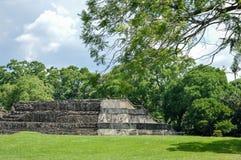 Tazumal archeologiczny miejsce majowie cywilizacja w Salwador america środkowy metaforyka map nasa Fotografia Royalty Free