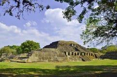 Tazumal El Salvador Stock Afbeeldingen