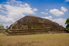 Tazumal mayan ruins in El Salvador, Santa Ana Royalty Free Stock Photography