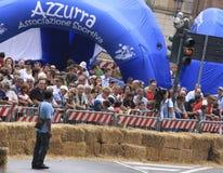 Tazza 2010 di slalom del pattino Fotografia Stock