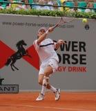 Tazza 2012 della squadra del mondo del cavallo di potenza di tennis Fotografia Stock