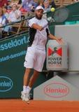Tazza 2012 della squadra del mondo del cavallo di potenza di tennis Fotografia Stock Libera da Diritti