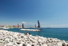Tazza 2012 di Napoli America Fotografie Stock