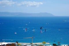 Tazza 2012 di Napoli America dalla collina di Vomero Fotografie Stock