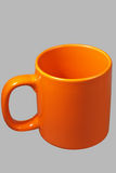 Tazza arancione due Fotografia Stock