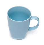Tazza blu Immagini Stock Libere da Diritti
