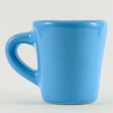 Tazza blu Fotografia Stock