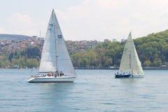 Tazza Bosphorus 2011 di navigazione dell'accumulazione di W Fotografie Stock Libere da Diritti