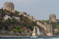 Tazza Bosphorus 2011 di navigazione dell'accumulazione di W Immagini Stock Libere da Diritti
