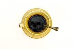 Caffè di morte Fotografia Stock