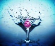 Tazza con acqua Immagine Stock