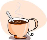 Tazza con caffè Fotografie Stock