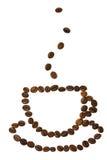 Tazza con caffè Fotografia Stock
