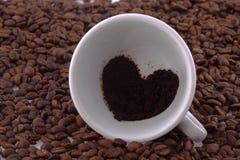 Tazza con caffè Immagini Stock