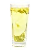 Tazza con il tè del gelsomino Fotografia Stock Libera da Diritti