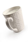 Tazza con latte Fotografia Stock Libera da Diritti