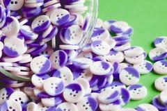 Tazza dei bottoni Immagini Stock