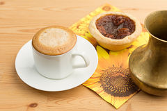 Caffè Crema Fotografia Stock