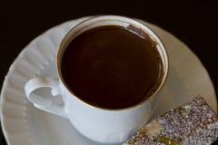 Tazza del caffè del turkich immagini stock