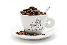 Tazza del caffè espresso Fotografia Stock Libera da Diritti