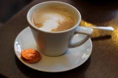Tazza del caffè tardi Fotografie Stock