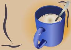 Tazza del Cappuccino Fotografia Stock Libera da Diritti