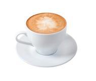 Tazza del Cappuccino Fotografie Stock Libere da Diritti