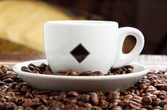 Tazza del cofee Fotografie Stock Libere da Diritti