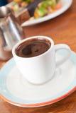 Tazza del Demitasse di caffè turco Fotografia Stock Libera da Diritti