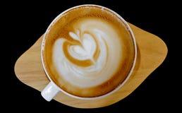 Tazza del mocca caldo del caffè Fotografia Stock
