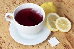 Tazza del tè della frutta Immagini Stock