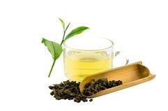 Tazza del tè del oolong Fotografie Stock Libere da Diritti