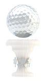 Tazza del trofeo di sport della palla da golf del premio Fotografia Stock Libera da Diritti