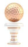 Tazza del trofeo di sport della palla da golf del premio Fotografie Stock Libere da Diritti