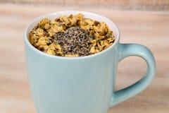 Tazza del turchese di tè Fotografie Stock