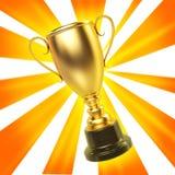 Tazza del vincitore Fotografia Stock
