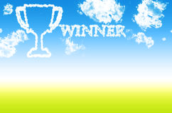 Tazza del vincitore o del trofeo Immagine Stock Libera da Diritti