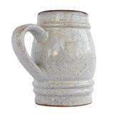 Tazza dell'argilla Fotografia Stock