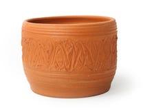 Tazza dell'argilla Fotografia Stock Libera da Diritti
