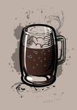 Tazza della birra Fotografie Stock